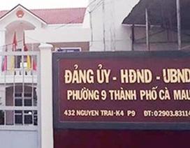 """Buộc thôi việc cựu Phó Chủ tịch phường """"mơi"""" tiền người dân"""