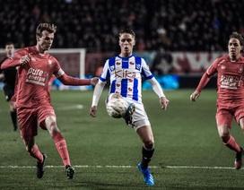 Hàng thủ chơi tệ hại, Heerenveen may mắn giành 3 điểm trước Twente