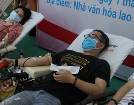 Chống Covid-19, hơn 1.000 công nhân, người lao động tình nguyện hiến máu