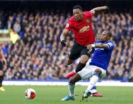 Những khoảnh khắc Man Utd kiếm một điểm vất vả trên sân Everton