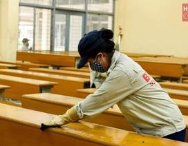 Đón sinh viên trở lại trường, ĐH Bách khoa HN ráo riết chuẩn bị phòng dịch