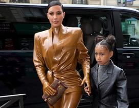 Kanye West và Kim Kardashian nổi bật tại Paris