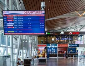 Cảng Hàng không quốc tế Đà Nẵng giảm phát thanh tại nhà ga