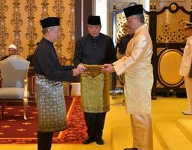 Tân thủ tướng Malaysia nhậm chức