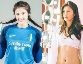 Vẻ đẹp như minh tinh màn ảnh của nữ thủ môn Trung Quốc