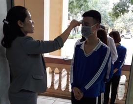 Trường học Thanh Hóa: 943 máy đo thân nhiệt, 24.566 vòi nước rửa tay