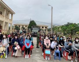 Gần 100 người về từ Hàn Quốc được cách ly tại Ninh Bình