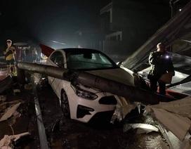 6 người bị thương sau mưa đá kèm giông lốc ở Yên Bái