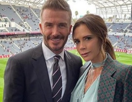 Victoria Beckham đi xem đội bóng của chồng thi đấu