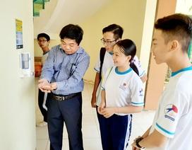 Học sinh thoải mái trở lại học sau đợt nghỉ phòng, chống dịch Covid-19