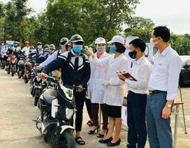 Hà Tĩnh: Đo thân nhiệt cho học sinh THPT 2 lần mỗi ngày tại cổng trường