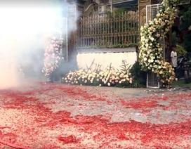"""Vụ đốt pháo """"đỏ đường"""" ở Hà Nội: Triệu tập một số người"""