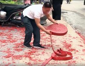Đối tượng đốt pháo tại đám cưới ở Hà Nội khai gì?