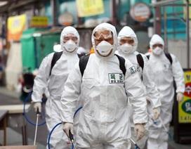 Số ca nhiễm virus corona tại Hàn Quốc lên gần 5.200 người