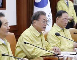 Tổng thống Hàn Quốc xin lỗi dân và tuyên chiến với dịch Covid-19