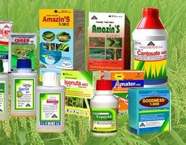 Gần 258 tấn thuốc bảo vệ thực vật tồn kho dự trữ quốc gia