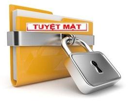 Máy tính đăng ký tài liệu bí mật nhà nước không được kết nối internet