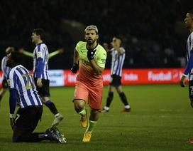 Aguero ghi bàn duy nhất đưa Man City vào tứ kết FA Cup