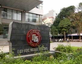 Bộ Công an làm rõ việc để ngoài sổ sách gần 200.000 USD ở ĐH Ngoại thương