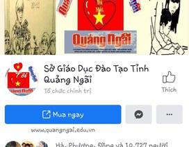 Quảng Ngãi:  Sở GD&ĐT lo ngại bị mạo danh trên mạng xã hội