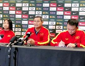 HLV Mai Đức Chung muốn hạn chế bàn thua trước Australia