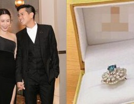 Hồ Hoài Anh tặng Lưu Hương Giang nhẫn kim cương sau ồn ào ly hôn