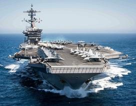 """Tàu sân bay USS Theodore Roosevelt - """"thành phố nổi"""" của Hải quân Mỹ"""