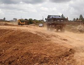 Bình Định: Rầm rộ đưa đất sét trong cụm công nghiệp ra ngoài đổ thải?