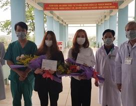 Hai cô gái về từ vùng dịch Daegu xuất viện sau 14 ngày cách ly