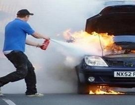 Nguyên nhân khiến ô tô dễ cháy nổ