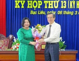 Bạc Liêu có Phó Chủ tịch HĐND tỉnh mới