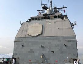 """Khí tài """"khủng"""" trang bị trên tuần dương hạm của Hải quân Mỹ"""