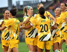 Tuyển nữ Việt Nam thua Australia 0-5 ở lượt đi play-off tranh vé Olympic