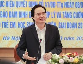Bộ trưởng Phùng Xuân Nhạ: Triển khai mô hình thí điểm bữa ăn học đường