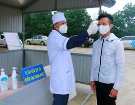 Hà Tĩnh: 100% học viên đo thân nhiệt phòng Covid-19 trước khi học lái xe