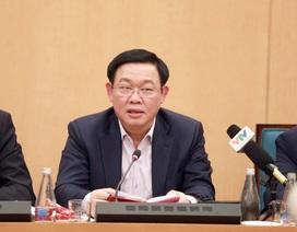 Bí thư Vương Đình Huệ: Hà Nội đủ tiềm lực đảm bảo nhu yếu phẩm cho dân