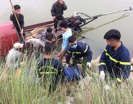 2 vợ chồng đuối nước trên sông Mã: Tìm thấy thi thể người chồng