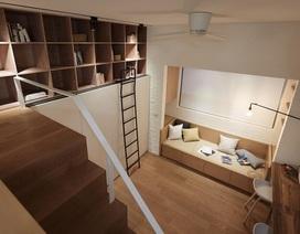Tuyệt chiêu thiết kế cho ngôi nhà 25m2 vẫn rộng rãi, đầy đủ tiện nghi