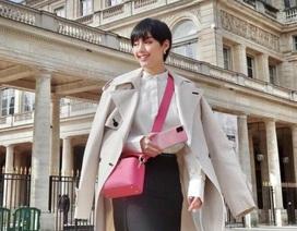 Fashionista Khánh Linh đã khám và cách ly tại nhà sau khi trở về từ Pháp