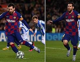 Messi ghi bàn, Barcelona hạ Sociedad và tạm chiếm ngôi đầu bảng