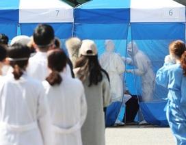 Số người nhiễm virus corona ở Hàn Quốc tăng chậm lại