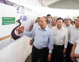 Thủ tướng kiểm tra tiến độ đường cao tốc Trung Lương - Mỹ Thuận