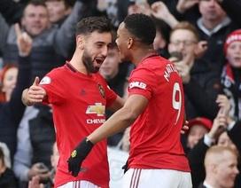 Man Utd 2-0 Man City: Martial, McTominay trừng phạt đối thủ