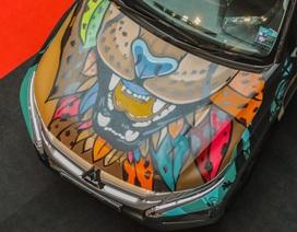 Chiêm ngưỡng một chiếc Triton độ graffiti sặc sỡ