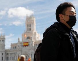 Số ca nhiễm Covid-19 tại Tây Ban Nha tăng vọt lên hơn 1.200