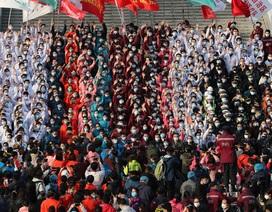Trung Quốc đóng cửa 15 bệnh viện dã chiến ở tâm dịch Vũ Hán