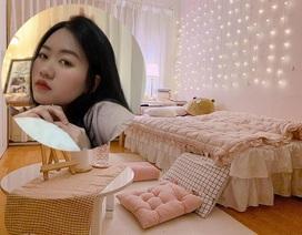 Cô gái tân trang lại căn phòng đẹp như mơ khiến dân mạng ngưỡng mộ