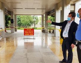 Lấy mẫu xét nghiệm lần 2 ca nhiễm Covid-19 tại Ninh Bình