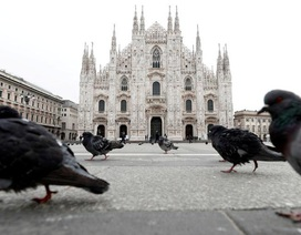 Tăng gần 1.800 ca nhiễm mới một ngày, Italia vắng lặng mùa dịch Covid-19