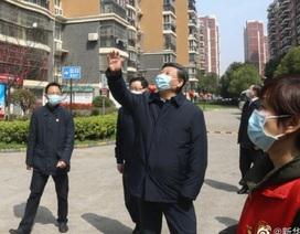 Ông Tập Cận Bình thăm bệnh viện dã chiến, khu dân cư ở Vũ Hán